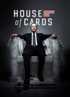 Kevin Spacey as Francis Underwood - Photo Générique avec Titre