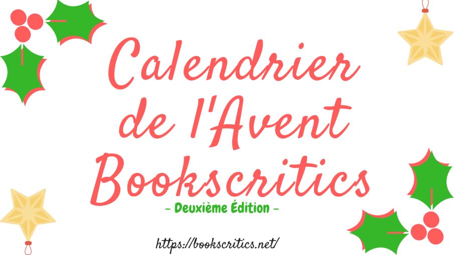 Calendrier de l'Avent Bookscritics-2
