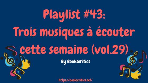 Top 5 _ mes musiques du moment(5)