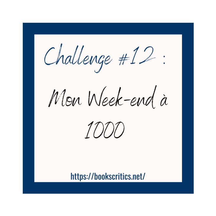 Challenge #12 _